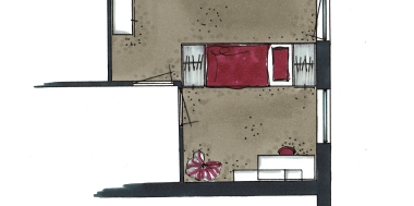 Detail slaapkamer 3 De Lier   Everdien Vroom Interieurontwerp