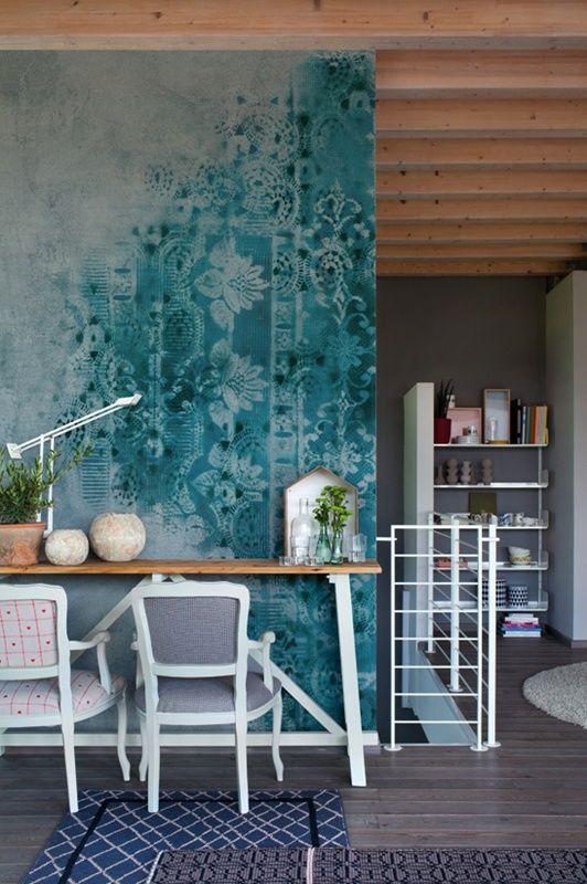 Inspiratie behang everdien vroom interieurontwerp - Zilvergrijs behang ...