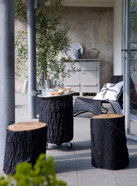 Decoratie in de tuin | Everdien Vroom Interieurontwerp
