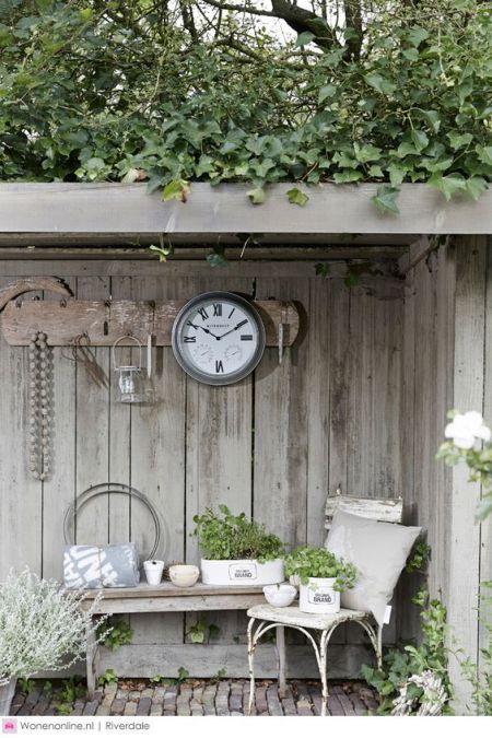 Decoratie in de tuin | Everdien Vroom Interieurontwerp