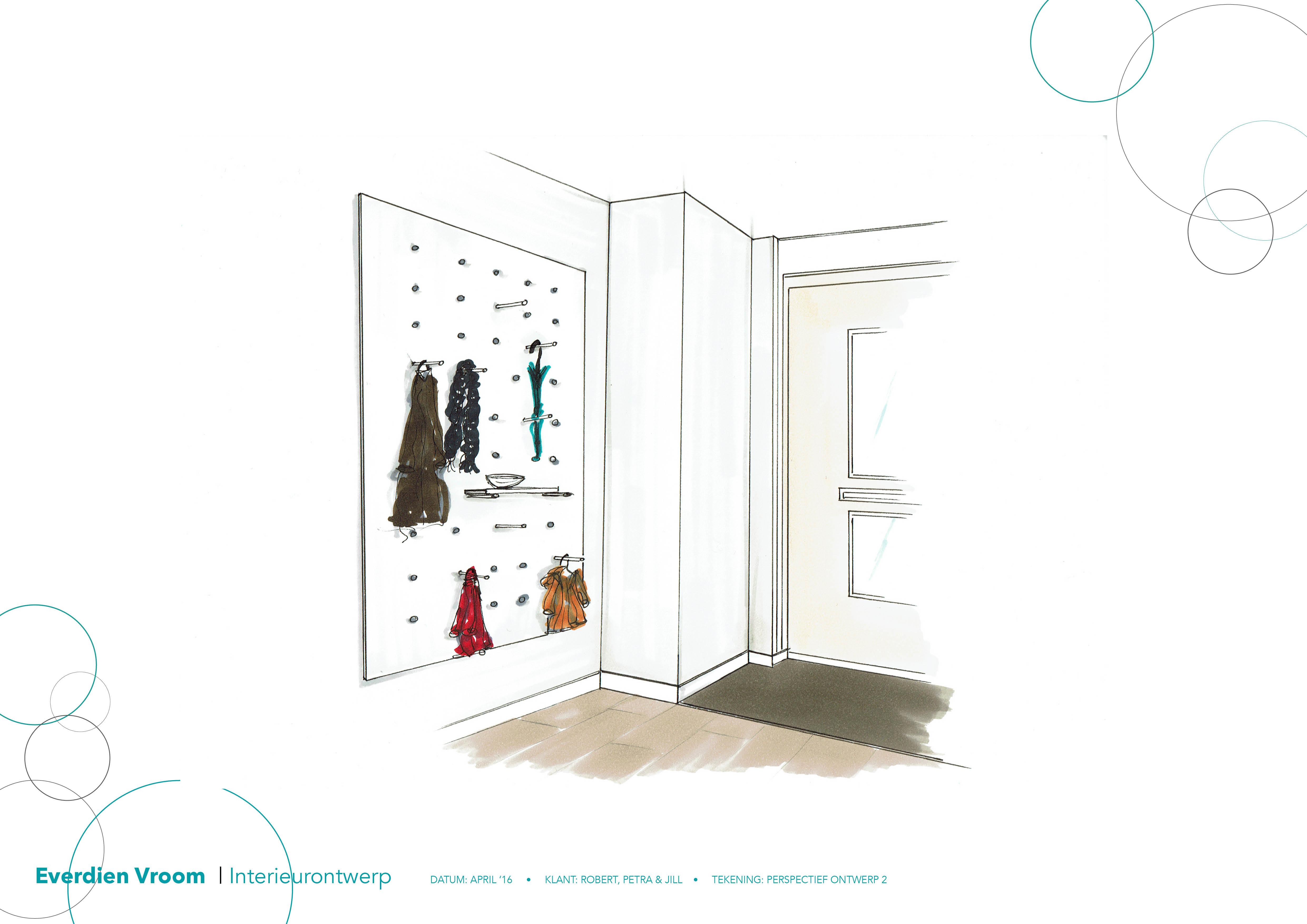 Idee voor de hal everdien vroom interieurontwerp